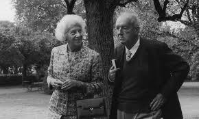 Vera and Vladimir Nabokov.