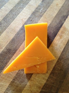Hard, cow's milk cheese.
