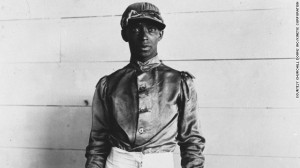 Jimmy Winkfield, the first and only black jockey to win the Kentucky Derby, which he did in 1901 and 1902.