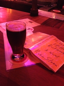 It started, as it so often does, in a bar.